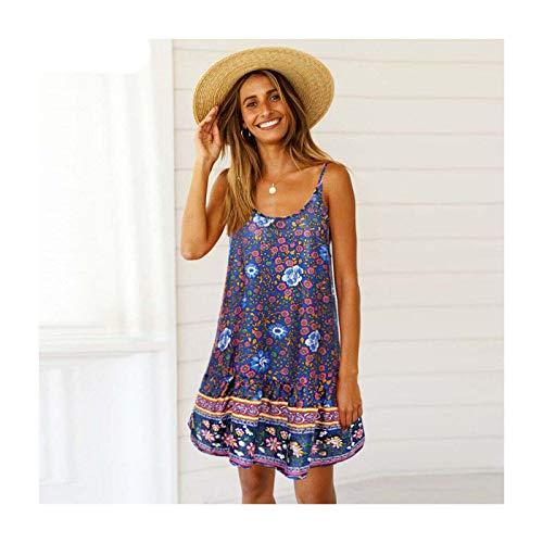 DROTYK& Women Summer Boho Short Maxi Dress Evening Cocktail Party Beach Dresses Sundress Style 14 M -