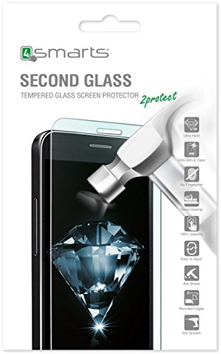 4smarts Second Glass Clear Screen Protector Galaxy Xcover 4 1pc (S) - Screen Protectors (Clear Screen Protector, Samsung, Galaxy Xcover 4, Transparent, 1 PC (S)) - Galaxy Screen Protector 4
