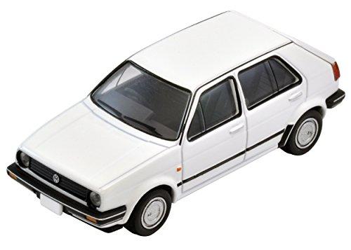 TomyTEC 271369-1/64 VW modèle de Golf 2, Accessoires pour Les chemins de Fer, 4 Portes, Blanc