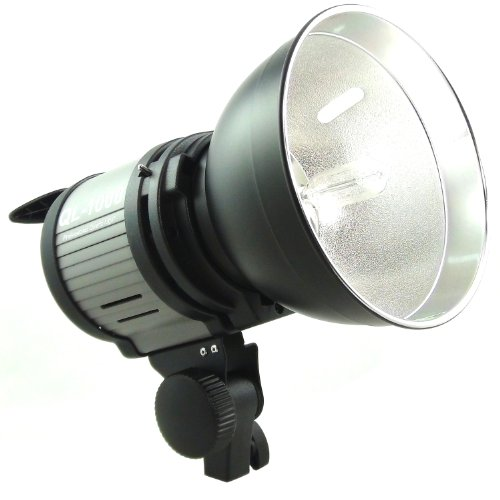 Dynasun QL1000 Illuminatore Compatto per Studio Professionale, Potenza Regolabile, Completo di Parabola Riflettore e Lampada Alogena al Quarzo, 1000W