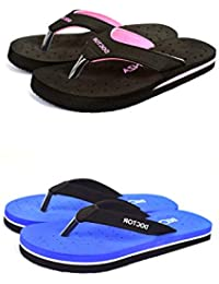 BEONZA Women's Doctor Slippers (Set of 2)