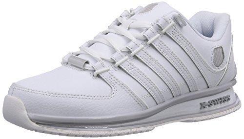 K-Swiss Rinzler Sp, Baskets Basses femme Blanc - Weiß (WHITE/WHITE 101)
