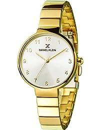 Daniel Klein Analog Silver Dial Women's Watch-DK11411-3