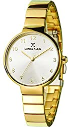 Daniel Klein Analog Silver Dial Womens Watch-DK11411-3