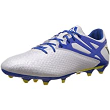 promo code 8db67 9499c adidas Messi15.2 FG AG, Botas de fútbol para Hombre, Blanco