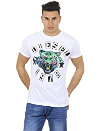 Diesel Diesel mens t-shirt T-THE-KING 00SAA0 0RDFM 100 BIANCO