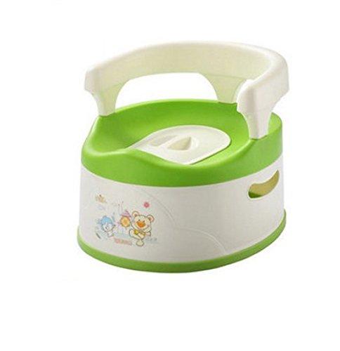 Baby-Töpfchen-Stuhl - Leicht Zu Reinigen, Abnehmbar, Covered Liner, Hohe Rückenlehne, Komfortables Ergonomisches Design