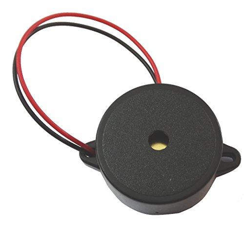 Preisvergleich Produktbild Aerzetix C4541 Akustischer Signalgeber für Kfz-Scheinwerfer - 8-16,  12 V,  90 dB,  31 mm x 15 mm