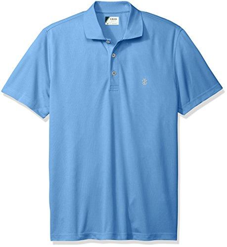 IZOD Herren Poloshirt, gemustert Opaque mehrfarbig Parent Gr. M, Marineblau (Shirt Polo Izod-pique)