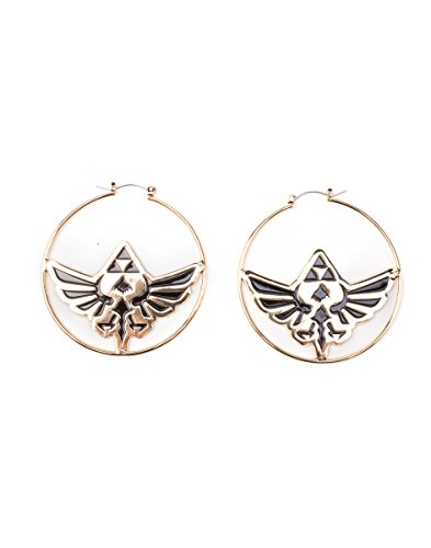 The Legend of Zelda Earring Zelda Loop s (Pair) Gold -