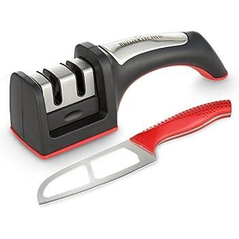 Messerschärfer inklusive Küchenmesser, rutschfest
