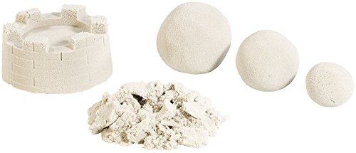 *Playtastic Magic Sand: Kinetischer Sand, fein, beige, 1 kg (Super Sand)*
