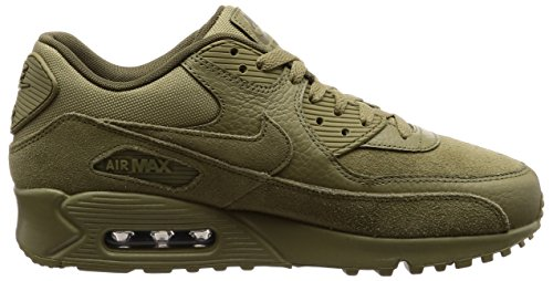 Nike Air Max 90 Premium, Sneaker Uomo Verde (Neutral Olive/neutral Olive-med Olive 202)