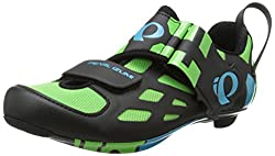 Men s Tri Fly V Carbon Cycling Shoe Green Flash 39 M EU / 6.1 C US