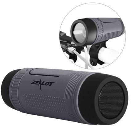 PYRUS Zealot - Altoparlante Bluetooth wireless da esterno antiurto, resistente all