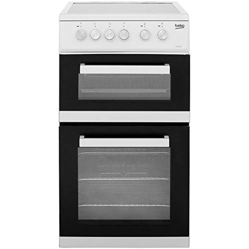 41fLwT6iv4L. SS500  - Beko ADC5422AW Freestanding Electric A Rated Cooker -White
