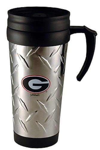 Game Day Outfitters NCAA Georgia Bulldogs Edelstahl Diamant Teller Tasse