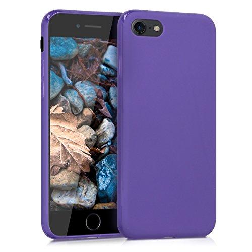 kwmobile Apple iPhone 7/8 Hülle - Handyhülle für Apple iPhone 7/8 - Handy Case in Violett matt