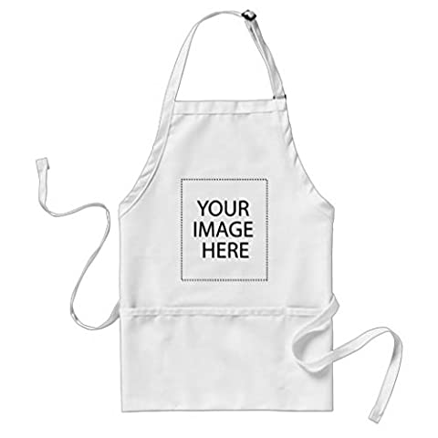 Funny Apron for Men Add Your Own image and Customize Your Product Work Adjustable Aprons for Home Boutique Kitchen BBQ Cooking Femme Chef Aprons White