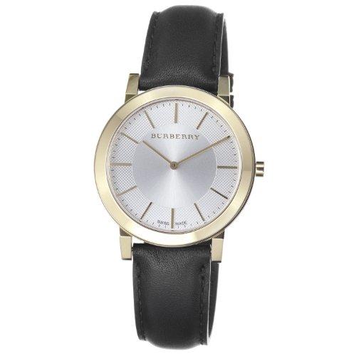 BURBERRY BU2353 - Reloj de Pulsera Hombre, Color Negro