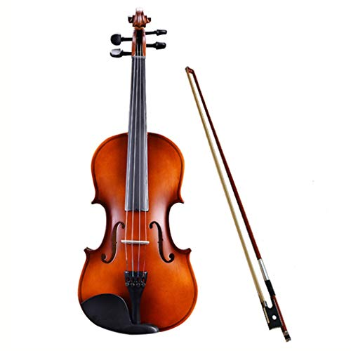 Violini Strumenti a Corda Matte Super Opaco per Bambini o Adulti Regalo Meraviglioso (Color : Matte 4/4)