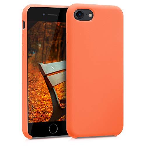 kwmobile Apple iPhone 7/8 Hülle - Handyhülle für Apple iPhone 7/8 - Handy Case in Papaya -