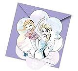 Disney Frozen Sparkle 6 Einladungskarten