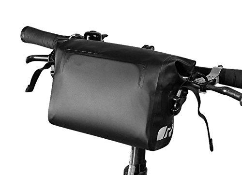 OGTOP Mountainbike Handytasche Wasserdichte Satteltasche Reitausrüstung Zubehör Black