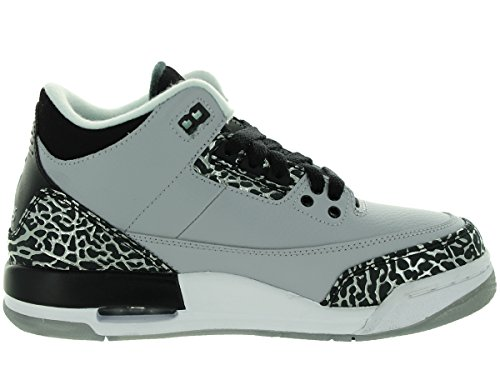 Nike , Chaussures de ville à lacets pour homme Multicolore - Gris / Plateado / Negro (Wolf Grey / Metallic Silver-Blk)
