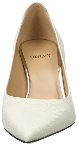 Oxitaly Stefy 100, Escarpins femme Weiß (WHITE)