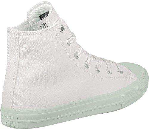 Converse Chuck Taylor All Star II Junior White/Fiberglass Textile Trainers bianco turchese Aclaramiento De Descuento 00VMrP