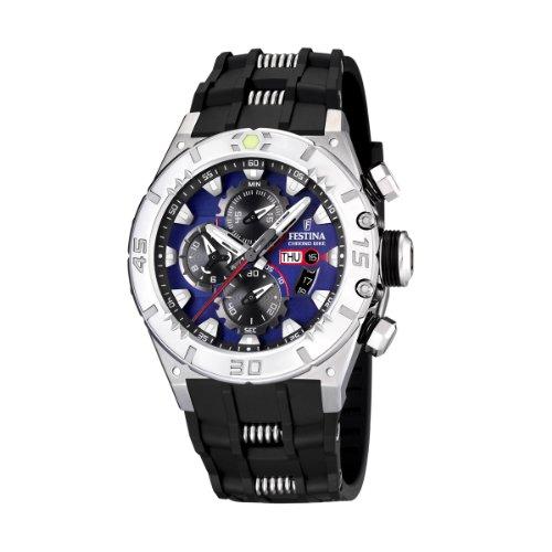 Festina - F16528/6 - Montre Homme - Quartz - Chronographe - Chronomètre - Bracelet Plastique Noir