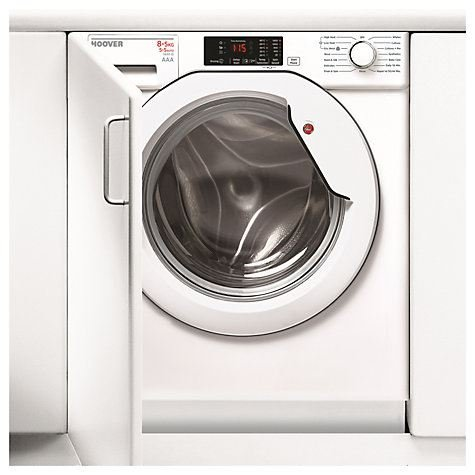 Hoover HBWD8514D-80 1400 Spin 8kg+5kg Integrated Washer Dryer in White