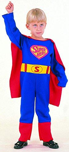 Karnavale Superman-Kostüm Baby 2-4 Jahre (Superman Kostüm 2 3 Jahre)