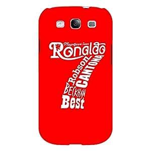 Jugaaduu Manchester United Ronaldo Back Cover Case For Samsung Galaxy S3 Neo