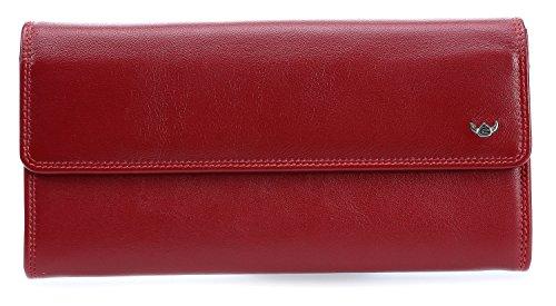 Golden Head Polo Mesdames portefeuille rouge