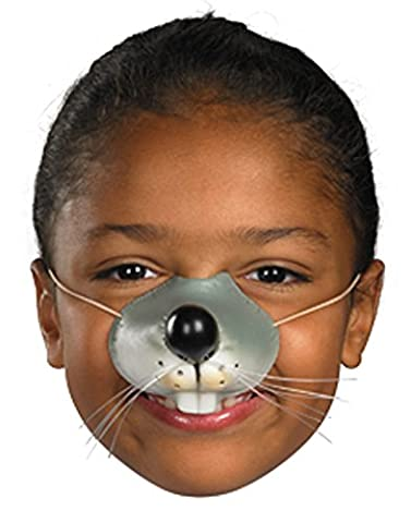 Disguise Child Grey Mouse Costume Nose One Size Child