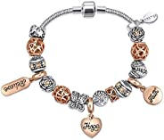 MESTIGE Women Crystal Expression Bracelet with Swarovski Crystals