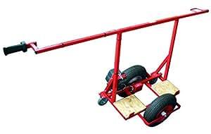 Taliaplast - Chariot porte plaques tout terrain manuel - Ø roues (mm): 400