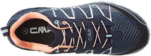 C.P.M. Atlas, Chaussures de Trail femme Bleu (B.blue-cristal-peach Fluo)