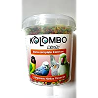 Pienso para agapornis y ninfas KOLOMBO (formato 400 Gr)