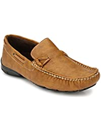 Braavosi Monster Casual Loafer Tan Slip-On Shoes