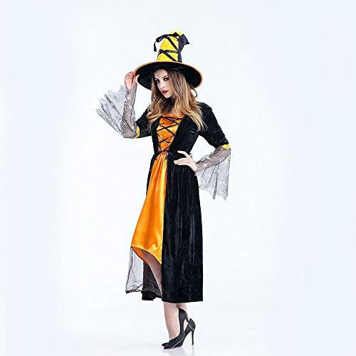 Klassische Hexe Kind Kostüm - Edelehu Klassische Kinder Hexen Halloween Cosplay
