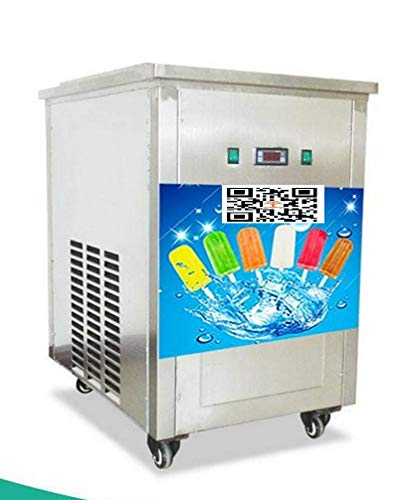 TX® with 1 Mold Stainless Steel Commercial Popsicle Maker Popsicle Machine Automatic Ice Lolly Machine Ice Popsicle Machine (220V/50HZ, 30pcs/Set Mold) (Ice 220v Maker Machine)
