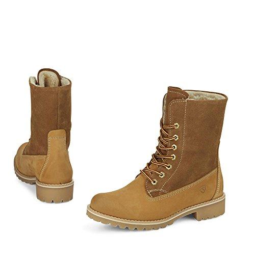 Tamaris 26443 Damen Combat Boots Camel