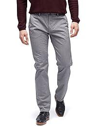 TOM TAILOR für Männer pants / trousers Travis Regular Chino mit Gürtel