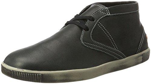 Softinos Tim Smooth, Sneaker a Collo Alto Uomo nero (nero)