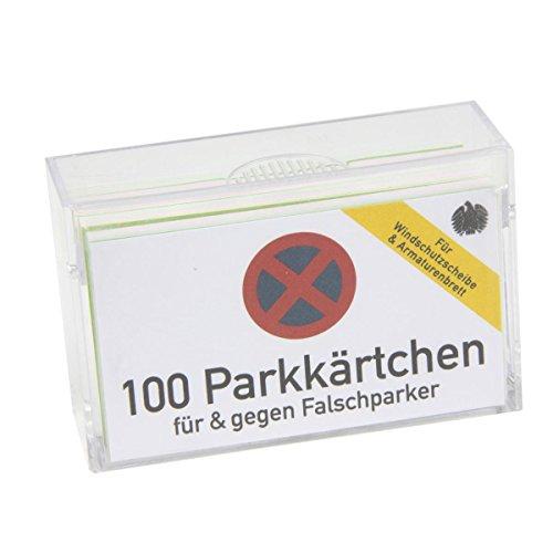 Preisvergleich Produktbild Donkey Kärtchen mit Sprüchen, Parkkärtchen, Donkey Kärtchenbox, 400142
