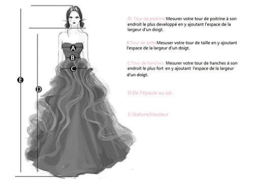 MicBridal -  Vestito  - linea ad a - Donna Menta