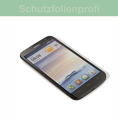 Alcatel One Touch Pop 4S - 3x Maoni Anti-Shock Bildschirmschutzfolie - seidenmatte Premium Folie Antireflex - Antifingerprint - Schutz Folie - Schutzfolie